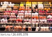 Купить «pastel crayons in store», фото № 26695378, снято 24 февраля 2019 г. (c) Яков Филимонов / Фотобанк Лори