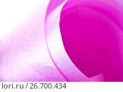 Купить «Pink packing tape», фото № 26700434, снято 22 июля 2017 г. (c) Parmenov Pavel / Фотобанк Лори