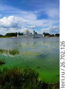 Купить «Russia, Kostroma city, Ipatievsky monastery», фото № 26702126, снято 30 июля 2015 г. (c) ElenArt / Фотобанк Лори