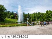 Купить «Kassel, Hessen, Deutschland Weltkulturerbe Bergpark Wilhelmshöhe Wasserspiele WasserkünsteJussow-Tempel», фото № 26724562, снято 10 декабря 2018 г. (c) age Fotostock / Фотобанк Лори