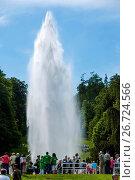 Купить «Kassel, Hessen, Deutschland Weltkulturerbe Bergpark Wilhelmshöhe Wasserspiele WasserkünsteJussow-Tempel», фото № 26724566, снято 10 декабря 2018 г. (c) age Fotostock / Фотобанк Лори