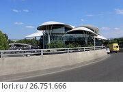 Купить «Дом юстиции. Грузия, город Тбилиси», эксклюзивное фото № 26751666, снято 13 июля 2017 г. (c) Алексей Гусев / Фотобанк Лори