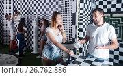 Купить «People trying to find solution», фото № 26762886, снято 6 июля 2017 г. (c) Яков Филимонов / Фотобанк Лори