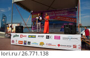 Купить «Самарский марафон», фото № 26771138, снято 20 августа 2017 г. (c) Кургузкин Константин Владимирович / Фотобанк Лори