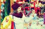 Girl shopping at festive fair, фото № 26773786, снято 22 августа 2017 г. (c) Яков Филимонов / Фотобанк Лори
