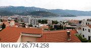 Купить «Панорама города Будва в Черногории», фото № 26774258, снято 3 августа 2017 г. (c) V.Ivantsov / Фотобанк Лори