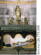 Купить «St Jean-Marie Vianney, the patron saint of priests.», фото № 26779998, снято 22 апреля 2019 г. (c) age Fotostock / Фотобанк Лори