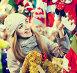 woman shopping at Christmas fair before Xmas in evening time, фото № 26783782, снято 23 августа 2017 г. (c) Яков Филимонов / Фотобанк Лори