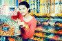 girl buying candies at shop, фото № 26802606, снято 22 марта 2017 г. (c) Яков Филимонов / Фотобанк Лори