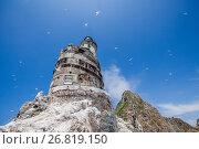 Купить «Заброшенный маяк Анива на острове Сахалин», фото № 26819150, снято 12 июня 2017 г. (c) Поволкович Федор / Фотобанк Лори