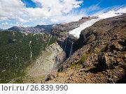 Купить «Tronador volcano and glaciers», фото № 26839990, снято 5 февраля 2017 г. (c) Яков Филимонов / Фотобанк Лори