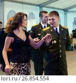 Купить «Офицерский бал», фото № 26854554, снято 24 августа 2013 г. (c) Free Wind / Фотобанк Лори