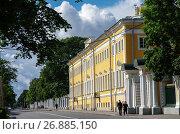 Купить «Музей Коллекционеров в Петергофе, Россия», фото № 26885150, снято 5 августа 2017 г. (c) Natalya Sidorova / Фотобанк Лори