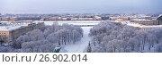 Купить «Санкт-Петербург, вид на город со смотровой площадки Исаакиевского собора», фото № 26902014, снято 14 июля 2020 г. (c) glokaya_kuzdra / Фотобанк Лори