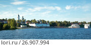 Купить «cruise boats myshkin», фото № 26907994, снято 27 августа 2016 г. (c) Яков Филимонов / Фотобанк Лори