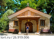Купить «Sveti Zosim, Saint Zosim, church from 1857, Sozopol, Bulgaria.», фото № 26919006, снято 20 июня 2017 г. (c) age Fotostock / Фотобанк Лори