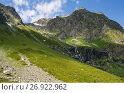 Купить «Mountains of the Caucasus», фото № 26922962, снято 8 августа 2017 г. (c) Типляшина Евгения / Фотобанк Лори