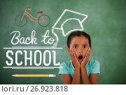 Купить «Composite image of back to school», фото № 26923818, снято 27 июня 2019 г. (c) Wavebreak Media / Фотобанк Лори