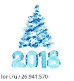 Купить «New year 2018», иллюстрация № 26941570 (c) Роман Сигаев / Фотобанк Лори