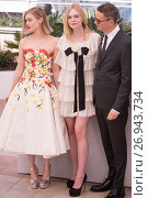 Купить «Celebrities attends a photocall for the 'Neon Demon' in the Palais de Festival for the 69th Cannes Film festival. Featuring: Bella Heathcote, Elle Fanning...», фото № 26943734, снято 20 мая 2016 г. (c) age Fotostock / Фотобанк Лори