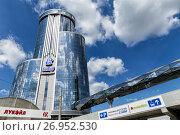 Купить «Бизнес холл БоВид. Челябинск», фото № 26952530, снято 7 августа 2017 г. (c) Евгений Ткачёв / Фотобанк Лори