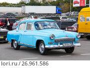 Купить «GAZ 21 Volga», фото № 26961586, снято 29 сентября 2012 г. (c) Art Konovalov / Фотобанк Лори