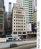 Купить «Chinese General Chamber of Commerce building in Hong Kong», фото № 26970446, снято 18 марта 2017 г. (c) Александр Подшивалов / Фотобанк Лори