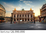 Купить «National Opera of Paris», фото № 26990890, снято 30 августа 2016 г. (c) easy Fotostock / Фотобанк Лори