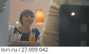 Купить «Excited woman sharing news with best friend», видеоролик № 27009042, снято 15 октября 2019 г. (c) Данил Руденко / Фотобанк Лори