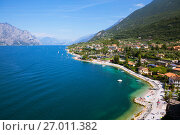 Купить «Озеро Гарда. Мальчезине. Италия», фото № 27011382, снято 5 сентября 2017 г. (c) Сергей Афанасьев / Фотобанк Лори