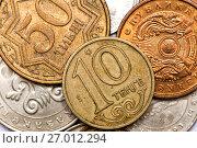 Купить «Coins of Kazakhstan», фото № 27012294, снято 22 января 2016 г. (c) Евгений Ткачёв / Фотобанк Лори