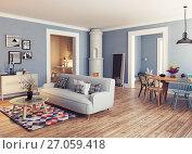Купить «The Modern interior», фото № 27059418, снято 13 ноября 2019 г. (c) Виктор Застольский / Фотобанк Лори