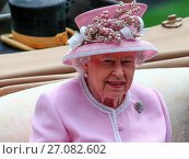 Купить «Sightings - Royal Ascot - Day 2 Featuring: Queen Elizabeth Where: Ascot, United Kingdom When: 15 Jun 2016 Credit: WENN.com», фото № 27082602, снято 15 июня 2016 г. (c) age Fotostock / Фотобанк Лори