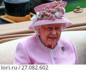 Sightings - Royal Ascot - Day 2 (2016 год). Редакционное фото, фотограф WENN.com / age Fotostock / Фотобанк Лори