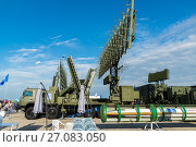 Moscow, Russia - July 24. 2017. Self-propelled radar systems at International Aviation and Space salon MAKS-2015. Редакционное фото, фотограф Володина Ольга / Фотобанк Лори