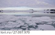 Купить «Franz-Josef Land landscape», видеоролик № 27097970, снято 26 сентября 2017 г. (c) Vladimir / Фотобанк Лори