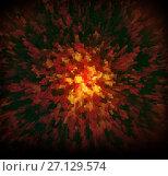 Купить «Abstract background techno graphics», иллюстрация № 27129574 (c) ElenArt / Фотобанк Лори