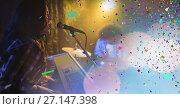 Купить «people at concert with transition», фото № 27147398, снято 16 февраля 2019 г. (c) Wavebreak Media / Фотобанк Лори