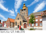 Купить «Мечеть в Брюгге, Бельгия», фото № 27148370, снято 11 июня 2017 г. (c) Ирина Яровая / Фотобанк Лори