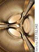 Купить «Inside view of the washing machine», фото № 27152342, снято 9 июля 2012 г. (c) Куликов Константин / Фотобанк Лори
