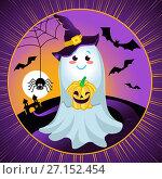 Купить «illustration for a Halloween», иллюстрация № 27152454 (c) Седых Алена / Фотобанк Лори