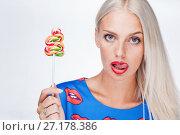Portrait of a girl. Стоковое фото, фотограф Podvysotskiy Roman / Фотобанк Лори