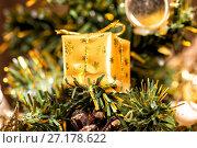 Купить «Toys on the Christmas tree», фото № 27178622, снято 26 декабря 2015 г. (c) Евгений Ткачёв / Фотобанк Лори