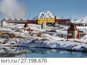 Купить «Мутновская геотермальная электростанция на Камчатке», фото № 27198670, снято 22 октября 2017 г. (c) А. А. Пирагис / Фотобанк Лори