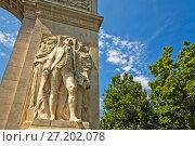 Купить «Washington Square Arch, Washington Square, Greenwich Village, Manhattan, New York City, USA, United States.», фото № 27202078, снято 10 июня 2011 г. (c) age Fotostock / Фотобанк Лори