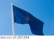 Купить «NATO flag», фото № 27207654, снято 14 сентября 2017 г. (c) Яков Филимонов / Фотобанк Лори