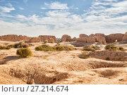 Купить «Руины крепости Кызыл-Кала, Узбекистан», фото № 27214674, снято 21 октября 2016 г. (c) Юлия Бабкина / Фотобанк Лори