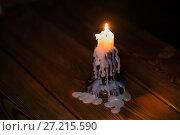 Купить «candle on a candlestick», фото № 27215590, снято 16 ноября 2017 г. (c) Типляшина Евгения / Фотобанк Лори