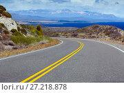 Купить «Views of Lago Buenos Aires, Patagonia, Argentina», фото № 27218878, снято 30 января 2017 г. (c) Яков Филимонов / Фотобанк Лори