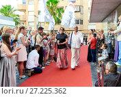 Купить «Russian Film Festival», фото № 27225362, снято 1 июля 2017 г. (c) Alexander Tihonovs / Фотобанк Лори